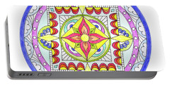 Mandala Portable Battery Charger