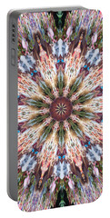 Mandala Of Blossom Portable Battery Charger