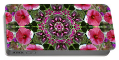 Mandala Pink Patron Portable Battery Charger