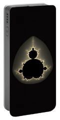 Mandelbrot Set Square Format Art Portable Battery Charger