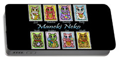 Maneki Neko Luck Cats Portable Battery Charger