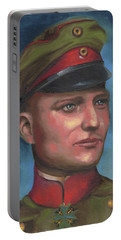 Manfred Von Richthofen The Red Baron Portable Battery Charger