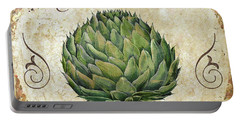 Mangia Artichoke Portable Battery Charger by Mindy Sommers