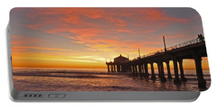 Beach Sunset Portable Batteries Chargers
