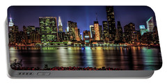 Portable Battery Charger featuring the photograph Manhattan Beauty by Theodore Jones