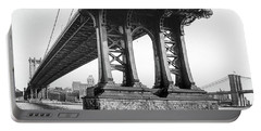 Manhattan Bridge, Afternoon Portable Battery Charger