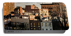 Manhattan From The Whitney Portable Battery Charger