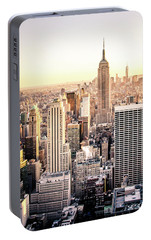 Manhattan Portable Battery Charger by Michael Weber