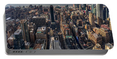Manhattan, Ny Portable Battery Charger by Martina Thompson
