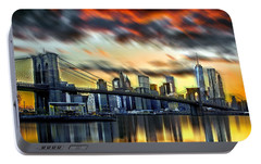 Manhattan Passion Portable Battery Charger by Az Jackson