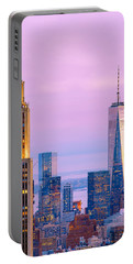 Manhattan Romance Portable Battery Charger