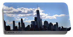 Manhattan Skyline No. 17-1 Portable Battery Charger by Sandy Taylor