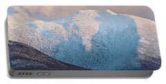 Mansfield Summit Winter Sunset Portable Battery Charger