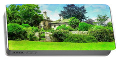 Mansion And Gardens At Harkness Park. Portable Battery Charger