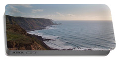 Mansley Cliff And Gull Rock From Longpeak Portable Battery Charger