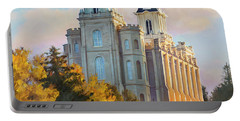 Manti Temple Tall Portable Battery Charger