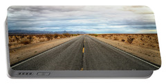 Many Miles Through Mojave Desert Portable Battery Charger