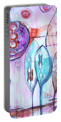 Many Moons Portable Battery Charger by Karin Husty
