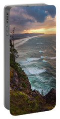 Portable Battery Charger featuring the photograph Manzanita Sun by Darren White