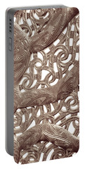 Maori Abstract Portable Battery Charger