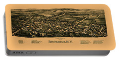 Map Of Rhinebeck 1890 Portable Battery Charger