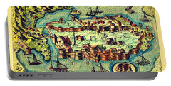 Map Seaport Portable Battery Charger