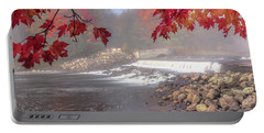 Maple Leaf Frame Portable Battery Charger
