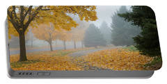 Maple Leaf Path Portable Battery Charger