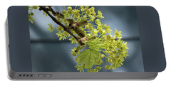 Maple Tree Flowers 2 - Portable Battery Charger