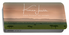 Mara Morn Portable Battery Charger by Karen Lewis
