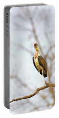 Marabou Stork In South Africa Portable Battery Charger