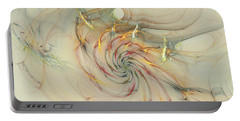 Marble Spiral Colors Portable Battery Charger