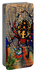 Marbled Orbweaver Portable Battery Charger