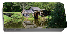 Portable Battery Charger featuring the photograph Marby Mill 2 by Paul Ward