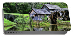 Portable Battery Charger featuring the photograph Marby Mill 3 by Paul Ward