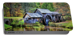 Mabry Mill A Blue Ridge Parkway Favorite Portable Battery Charger