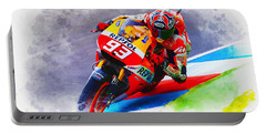 Marc Marquez Get Up Close Portable Battery Charger