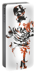 Marcell Ozuna Miami Marlins Pixel Art 2 Portable Battery Charger