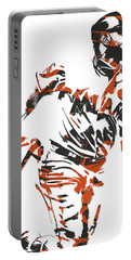 Marcell Ozuna Miami Marlins Pixel Art 3 Portable Battery Charger
