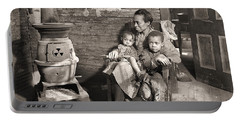 March 1937 Scott's Run, West Virginia Johnson Family. Portable Battery Charger