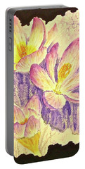 March Crocus Portable Battery Charger