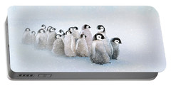March Of The Penguins Portable Battery Charger