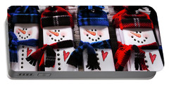 March Of The Snowmen Portable Battery Charger