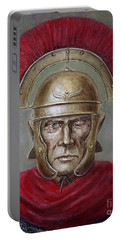 Marcus Cassius Scaeva Portable Battery Charger by Arturas Slapsys
