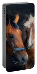 Mare And Foal Portable Battery Charger