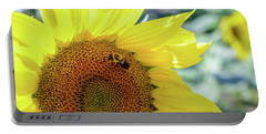 Maria's Sunflower Portable Battery Charger by Mary Timman