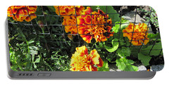 Marigolds In Prison Portable Battery Charger