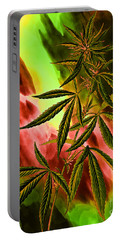 Marijuana Cannabis Plant Portable Battery Charger