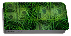 Marijuana Dollars Portable Battery Charger