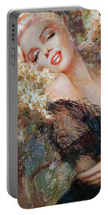 Marilyn Cherry Blossom Portable Battery Charger